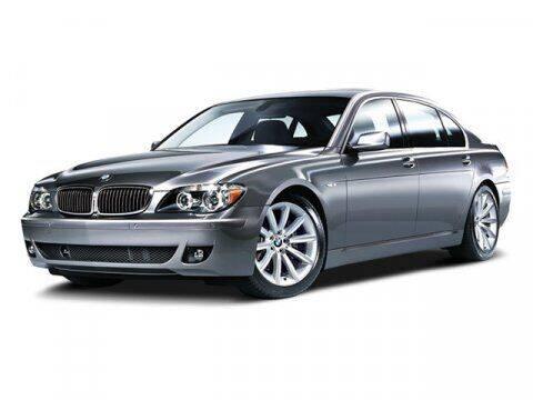 2008 BMW 7 Series for sale at SCOTT EVANS CHRYSLER DODGE in Carrollton GA