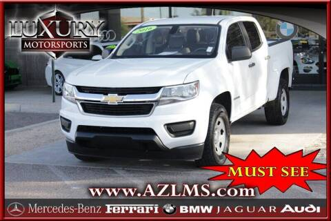 2016 Chevrolet Colorado for sale at Luxury Motorsports in Phoenix AZ