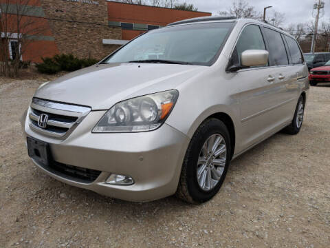 2007 Honda Odyssey for sale at DILLON LAKE MOTORS LLC in Zanesville OH