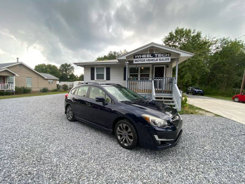 2015 Subaru Impreza for sale at Wheel Tech Motor Vehicle Sales in Maylene AL