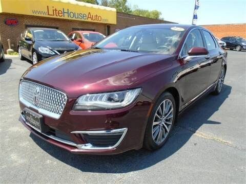2017 Lincoln MKZ for sale at Cj king of car loans/JJ's Best Auto Sales in Troy MI