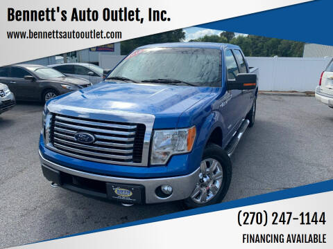 2012 Ford F-150 for sale at Bennett's Auto Outlet, Inc. in Mayfield KY