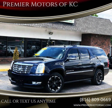 2008 Cadillac Escalade ESV for sale at Premier Motors of KC in Kansas City MO