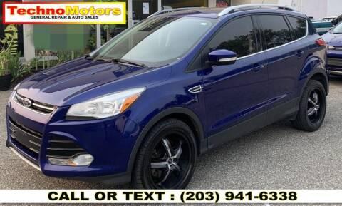 2014 Ford Escape for sale at Techno Motors in Danbury CT