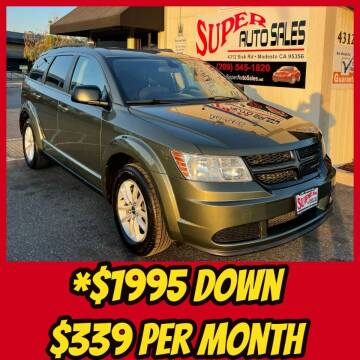 2018 Dodge Journey for sale at Super Auto Sales Modesto in Modesto CA