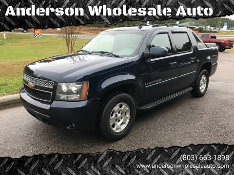 2007 Chevrolet Avalanche for sale at Anderson Wholesale Auto in Warrenville SC