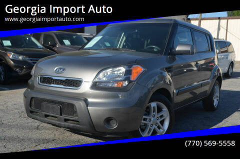 2011 Kia Soul for sale at Georgia Import Auto in Alpharetta GA