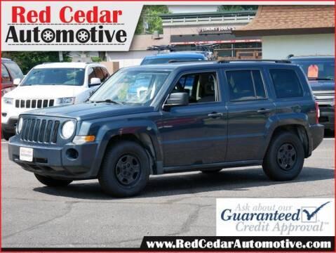 2007 Jeep Patriot for sale at Red Cedar Automotive in Menomonie WI