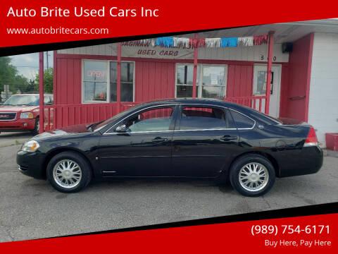 2007 Chevrolet Impala for sale at Auto Brite Used Cars Inc in Saginaw MI