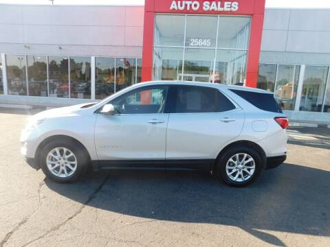 2018 Chevrolet Equinox for sale at Twins Auto Sales Inc Redford 1 in Redford MI
