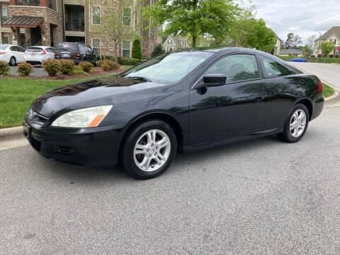 2007 Honda Accord for sale at LA 12 Motors in Durham NC