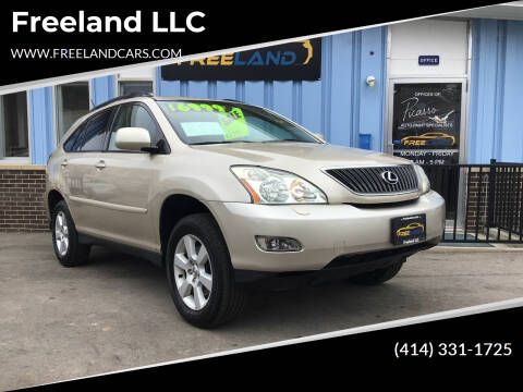 2005 Lexus RX 330 for sale at Freeland LLC in Waukesha WI