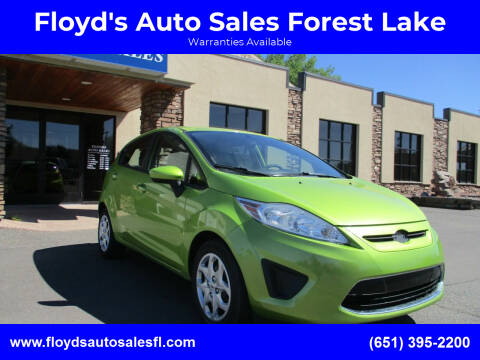 2012 Ford Fiesta for sale at Floyd's Auto Sales Forest Lake in Forest Lake MN