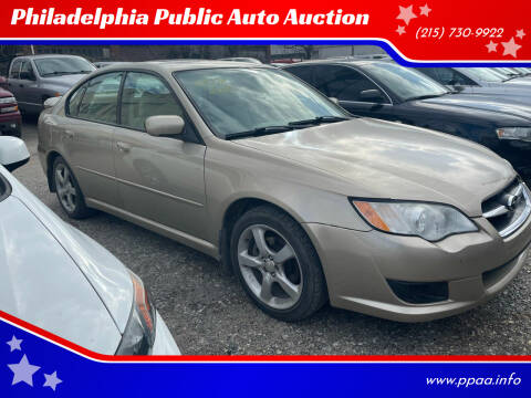 2008 Subaru Legacy for sale at Philadelphia Public Auto Auction in Philadelphia PA