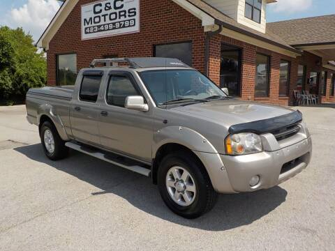2003 Nissan Frontier for sale at C & C MOTORS in Chattanooga TN