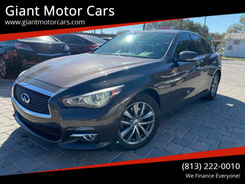 2017 Infiniti Q50 for sale at Giant Motor Cars in Tampa FL