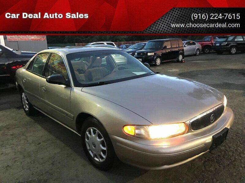 2000 Buick Century for sale at Car Deal Auto Sales in Sacramento CA
