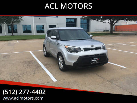 2015 Kia Soul for sale at ACL MOTORS in Austin TX