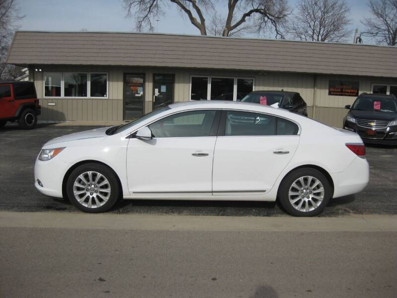 2013 Buick LaCrosse for sale at Greens Motor Company in Forreston IL