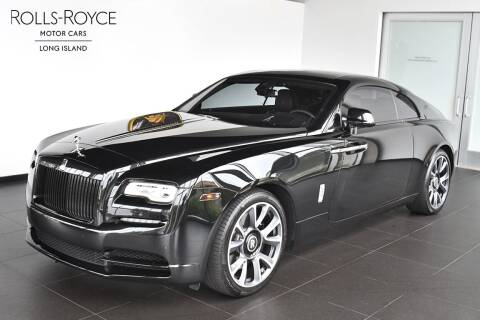 2018 Rolls-Royce Wraith for sale at Bespoke Motor Group in Jericho NY