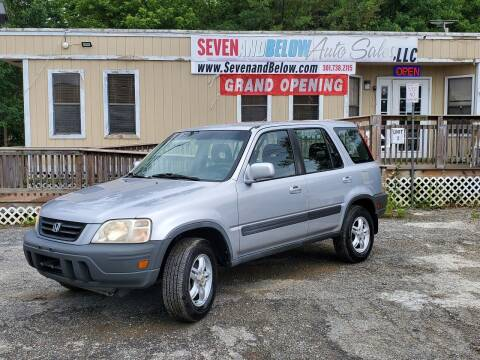 2001 Honda CR-V for sale at Seven and Below Auto Sales, LLC in Rockville MD