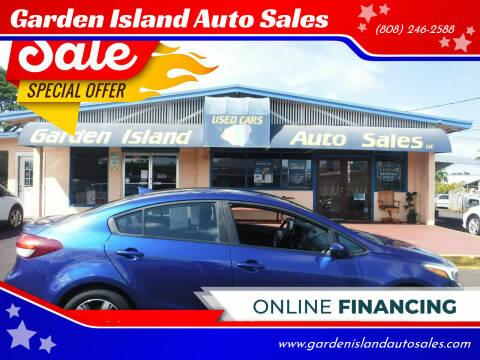 2018 Kia Forte for sale at Garden Island Auto Sales in Lihue HI