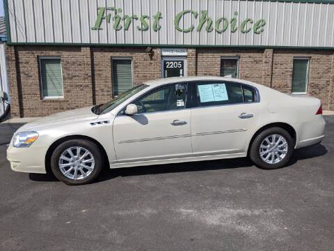 2011 Buick Lucerne for sale at First Choice Auto in Greenville SC