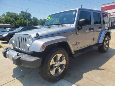 2016 Jeep Wrangler Unlimited for sale at Quallys Auto Sales in Olathe KS