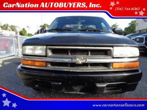 2001 Chevrolet S-10 for sale at CarNation AUTOBUYERS, Inc. in Rockville Centre NY