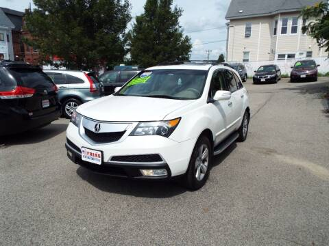 2010 Acura MDX for sale at FRIAS AUTO SALES LLC in Lawrence MA