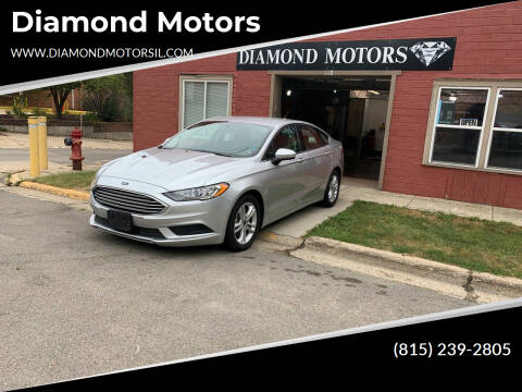 2018 Ford Fusion for sale at Diamond Motors in Pecatonica IL