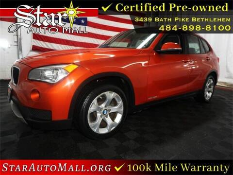2014 BMW X1 for sale at STAR AUTO MALL 512 in Bethlehem PA