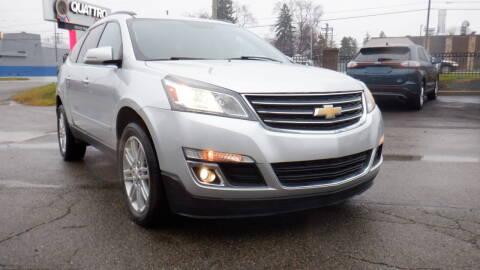 2015 Chevrolet Traverse for sale at Quattro Motors 2 - 1 in Redford MI