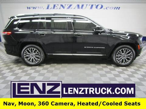 2021 Jeep Grand Cherokee L for sale at LENZ TRUCK CENTER in Fond Du Lac WI