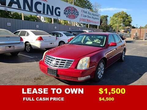 2008 Cadillac DTS for sale at Auto Mart USA -Lease To Own in Kansas City MO