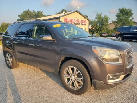 2013 GMC Acadia for sale at Reliable Cars Sales in Michigan City IN