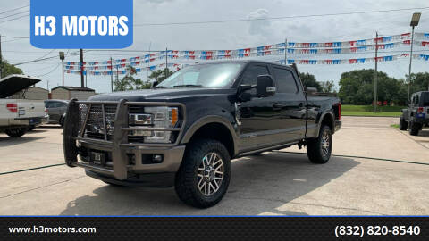 2018 Ford F-250 Super Duty for sale at H3 MOTORS in Dickinson TX
