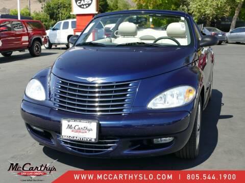 2005 Chrysler PT Cruiser for sale at McCarthy Wholesale in San Luis Obispo CA