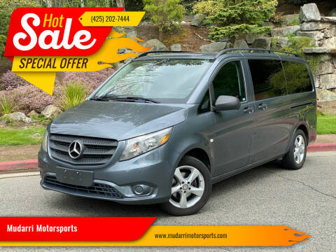2016 Mercedes-Benz Metris for sale at Mudarri Motorsports in Kirkland WA