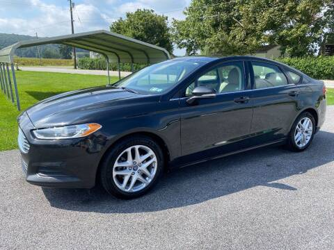 2013 Ford Fusion for sale at Finish Line Auto Sales in Thomasville PA