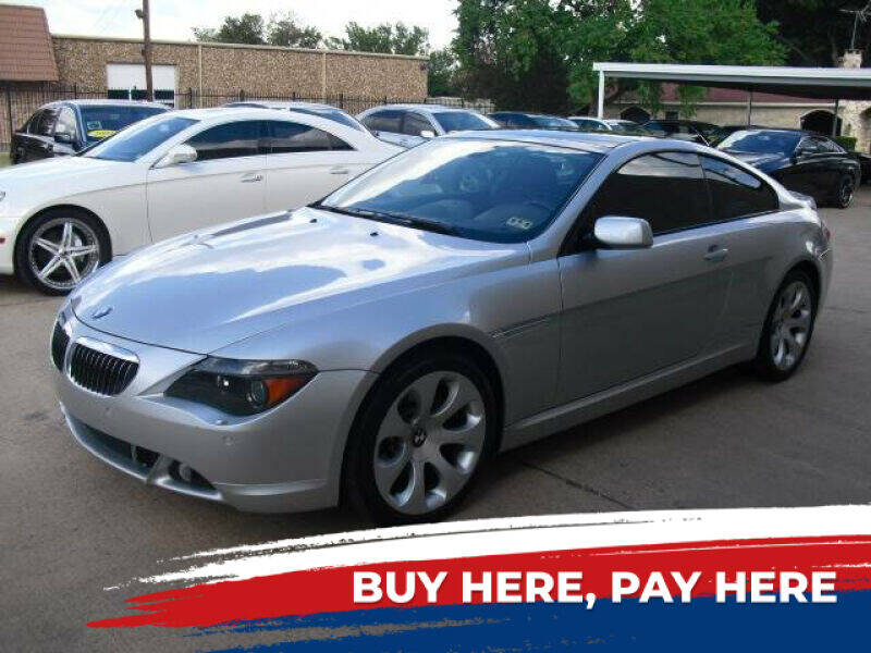 2005 BMW 6 Series for sale at German Exclusive Inc in Dallas TX