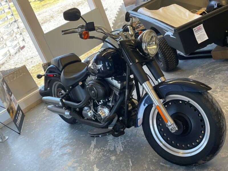 2012 Harley-Davidson FLSTF Fat Boy Low for sale at Champlain Valley MotorSports in Cornwall VT