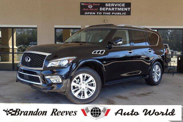 2017 Infiniti QX80 for sale at Brandon Reeves Auto World in Monroe NC