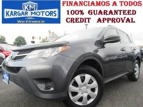 2013 Toyota RAV4 for sale at Kargar Motors of Manassas in Manassas VA