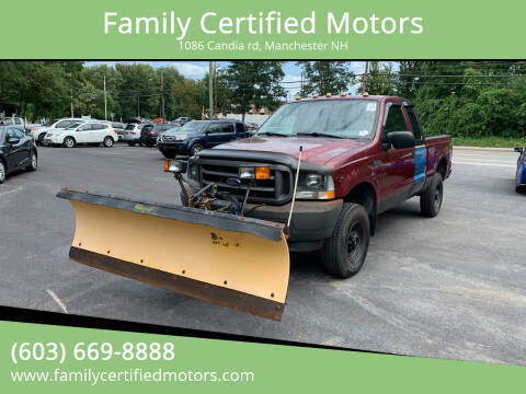 2004 Ford F-250 Super Duty for sale at Family Certified Motors in Manchester NH