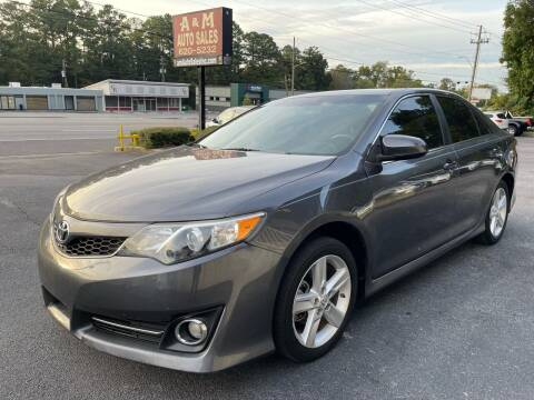 2013 Toyota Camry for sale at A & M Auto Sales, Inc in Alabaster AL