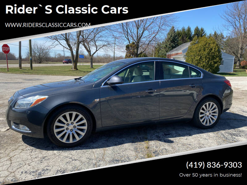 2011 Buick Regal for sale at Rider`s Classic Cars in Millbury OH