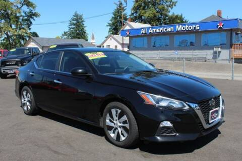 2019 Nissan Altima for sale at All American Motors in Tacoma WA