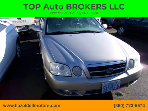 2006 Kia Optima for sale at TOP Auto BROKERS LLC in Vancouver WA