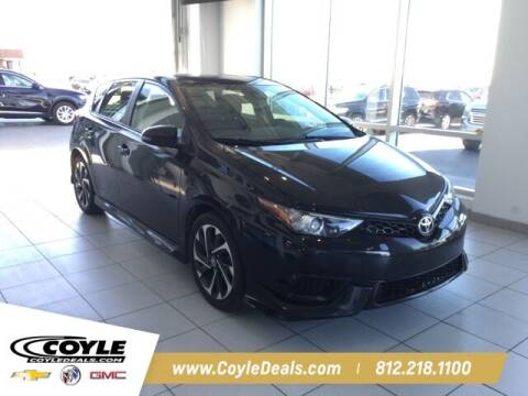 2017 Toyota Corolla iM for sale at COYLE GM - COYLE NISSAN - Coyle Nissan in Clarksville IN